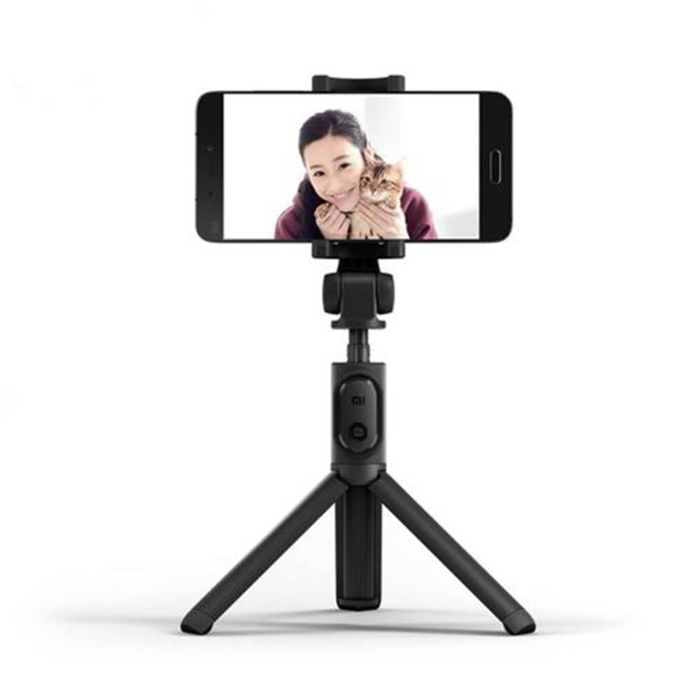 Xiaomi Mi Tripod Bluetooth Selfie Stick with Bluetooth Shutter Remote - Black