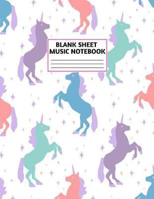 Blank Sheet Music Notebook by Zachariah Noble Music