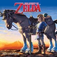 The Legend of Zelda 2021 Square Wall Calendar