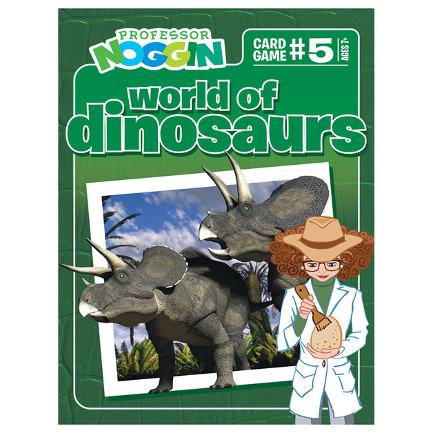 Professor Noggins: Dinosaurs Card Game
