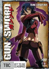 Gun X Sword - Vol. 3: Separate Ways on DVD