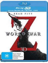 World War Z 3D DVD