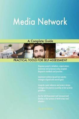 Media Network a Complete Guide by Gerardus Blokdyk image