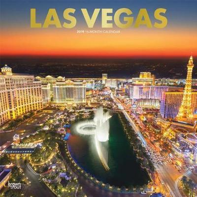 LAS Vegas 2019 Square Wall Calendar by Inc Browntrout Publishers