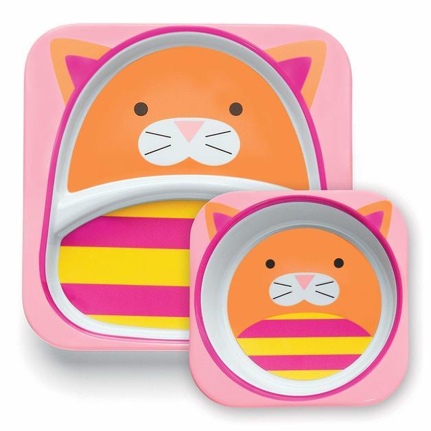 Skip Hop: Zoo Melamine Set - Cat