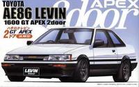 Fujimi 1/24 Toyota Corolla Levin AE86 2doors GT APEX 'Late type' - Model Kit