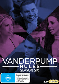 Vanderpump Rules: Season Six on DVD