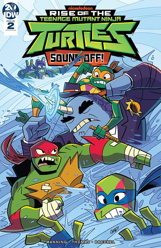Rise Of The Teenage Mutant Ninja Turtles: Sound Off! - #2 (Cover A) by Matthew K Manning