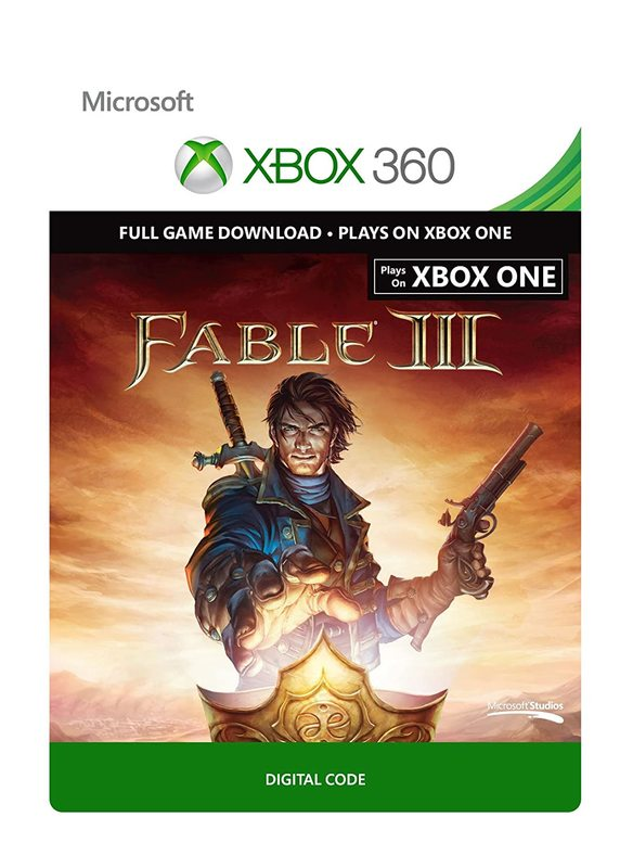 Fable III for Xbox One & Xbox 360 (Digital Code) for Xbox One, X360