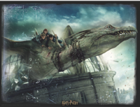 Super 3D: 300-Piece Jigsaw Puzzle - Harry Potter: Norbert image