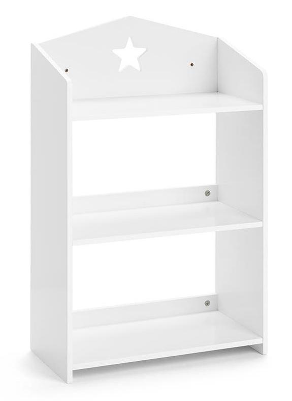 Ovela: Children's Star Shelf - White
