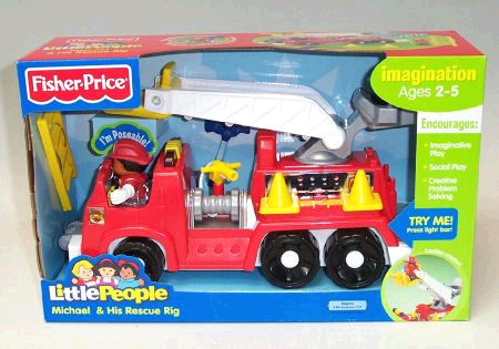 Fisher Price Michael's Rescue Rig image