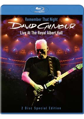 David Gilmour - Remember That Night: Live At The Royal Albert Hall (2 Disc Set) on Blu-ray image