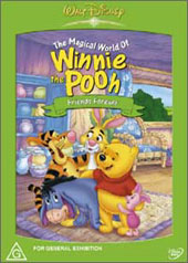 Winnie The Pooh - Friends Forever on DVD