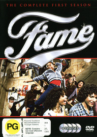 Fame - Complete Season 1 (4 Disc Box Set) on DVD image
