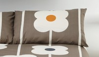 Orla Kiely Giant Abacus Pillowcase Set of 2 - Mushroom