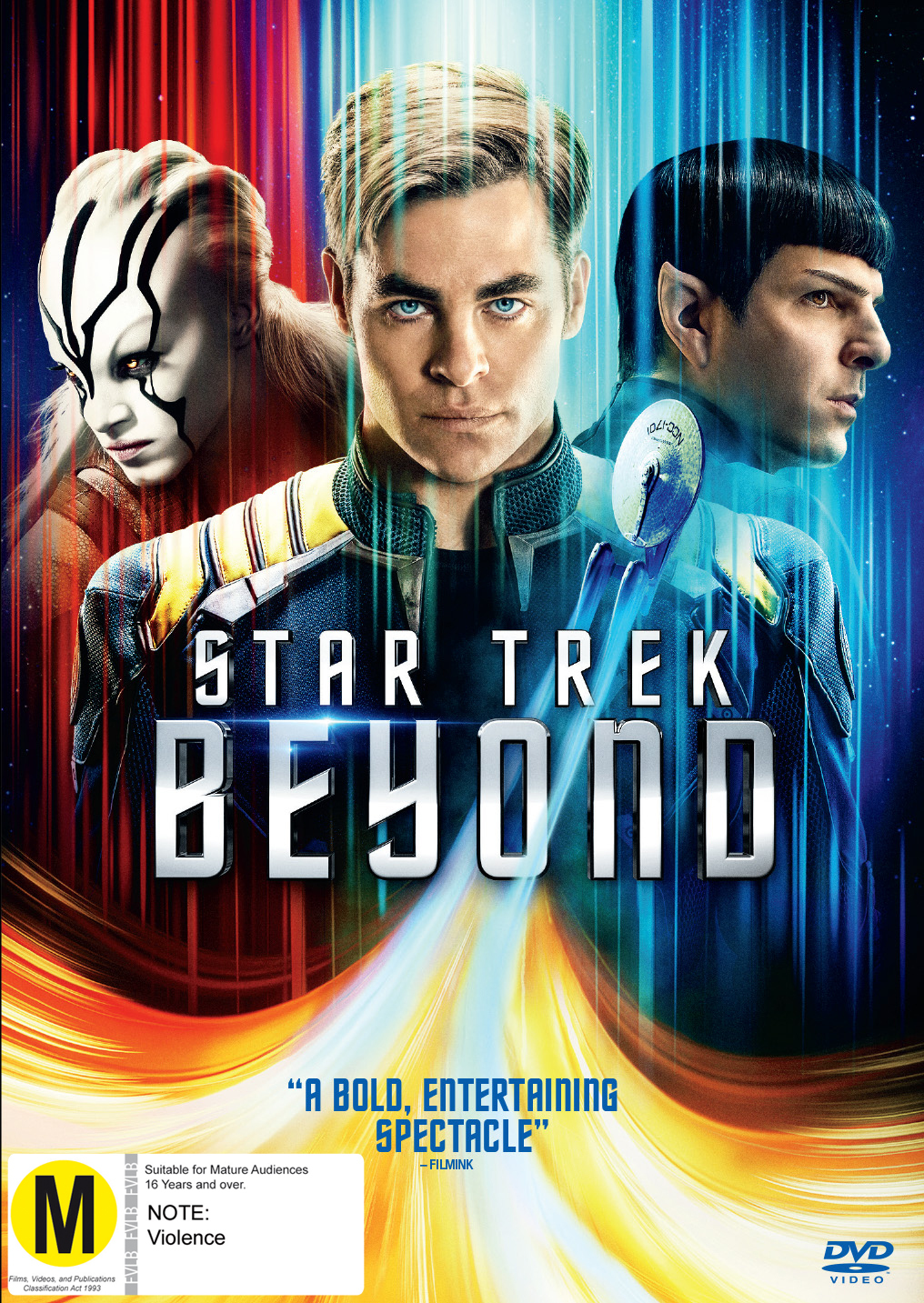 Star Trek Beyond on DVD image