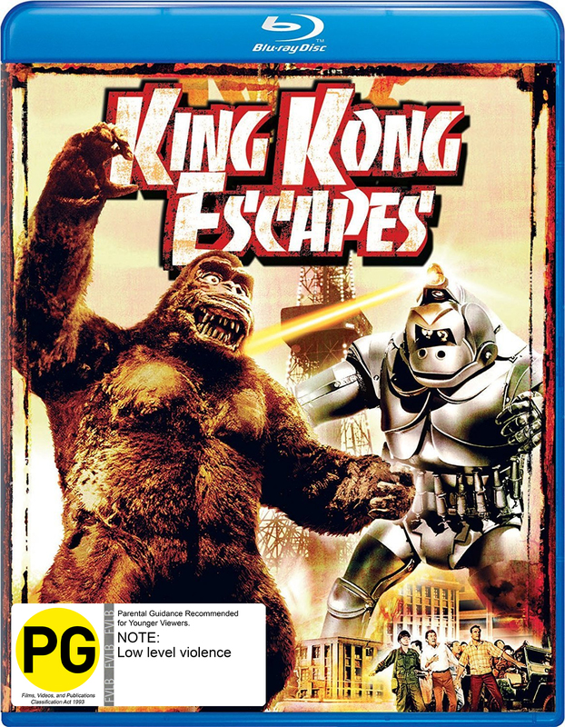 King Kong Escapes on Blu-ray