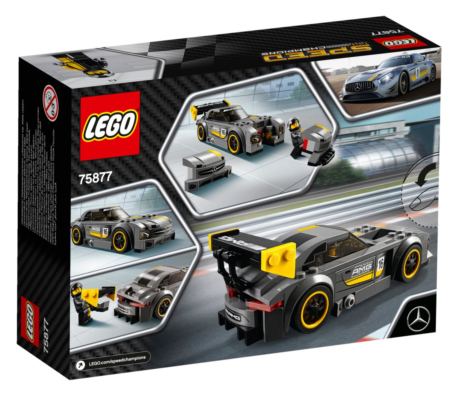 LEGO Speed Champions: Mercedes-AMG GT3 (75877) image