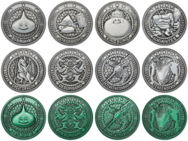 Dragon Quest: Treasure Coin Collections Vol.2 - Blind Box