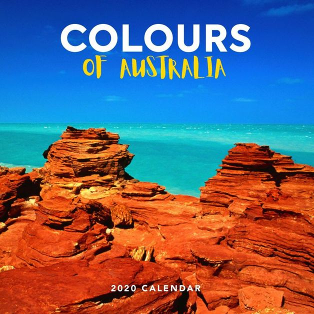 Colours of Australia 2020 Square Wall Calendar