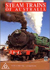 Steam Trains Of Australia on DVD