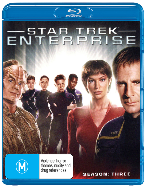 Star Trek Enterprise - The Complete Third Season on Blu-ray