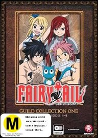 Fairy Tail - Guild Collection 1 on DVD