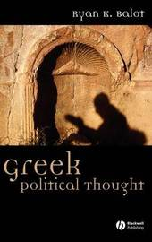 Greek Political Thought by Ryan K. Balot image