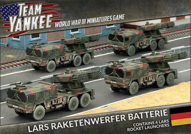 Flames of War: Team Yankee Raketenwerfer Batterie (x4 LARS)