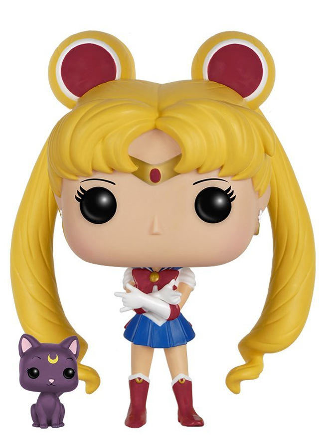 Sailor Moon - Sailor Moon w/ Luna (Glitter) Pop! Vinyl Figure image