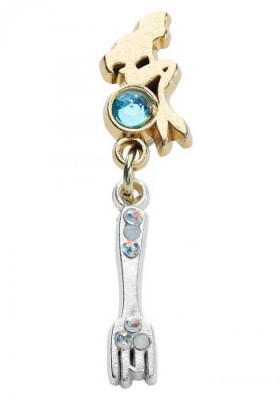 Neon Tuesday: The Little Mermaid - Dingelhopper Earrings