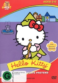Hello Kitty - Plays Pretend on DVD image