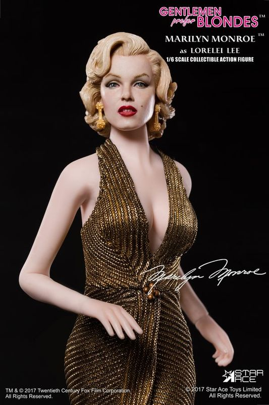 Marilyn Monroe (Gold Dress Ver.) - 1:6 Scale Action Figure