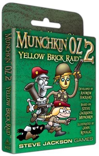 Munchkin Oz 2: Yellow Brick Raid - Expansion image