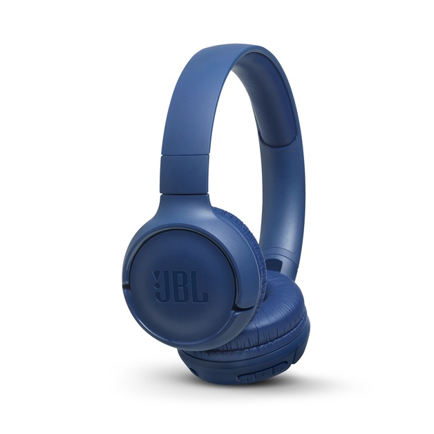 JBL T500 Bluetooth Headphones - Blue