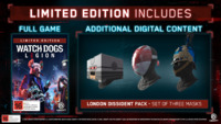 Watch Dogs Legion Limited Edition for Xbox One