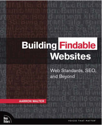Building Findable Websites by Aarron Walter image