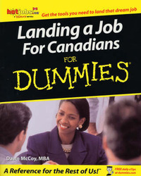 Landing a Job for Canadians for Dummies by Dawn McCoy-Ullrich image