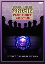 NRL - The History Of Origin: Part 3 - 2000-2008 on DVD
