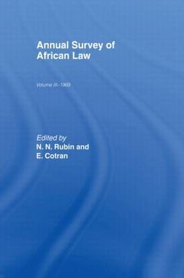 Annual Survey of African Law Cb image