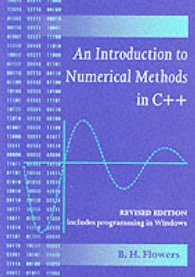 An Introduction to Numerical Methods in C++ by B.H. Flowers image