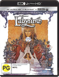 Labyrinth (4K UHD + Blu-ray + UV) DVD