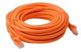 8ware: Cat 6a UTP Ethernet Cable Snagless - 10m (Orange)