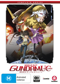 Mobile Suit Gundam Unicorn: Complete Series on DVD
