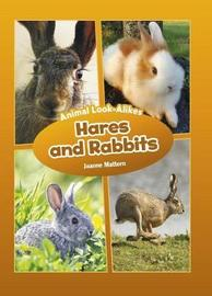 Hares and Rabbits - Animal Look-Alikes by Joanne Mattern