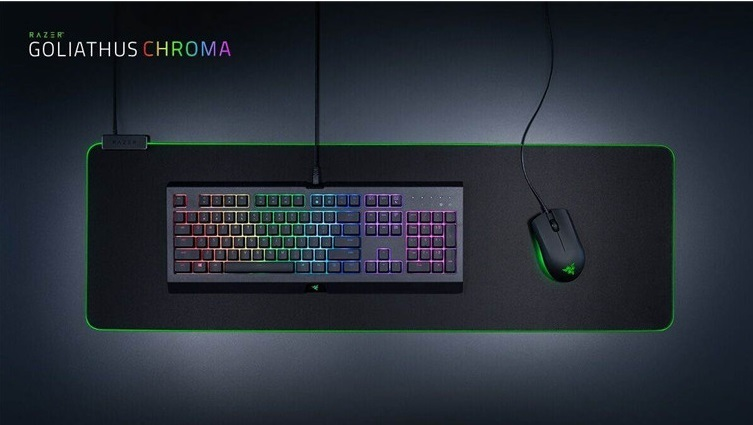 ecc3dd4d51c ... Razer Goliathus Chroma Extended RGB Soft Gaming Mouse Mat for PC image