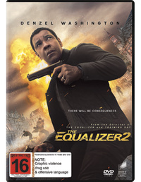 The Equalizer 2 on DVD image