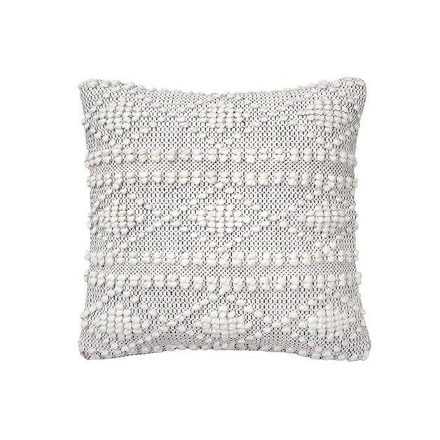 Bambury: Hadley Cushion - Charcoal (43 x 43cm)