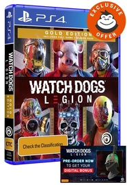 Watch Dogs Legion Gold Edition for PS4